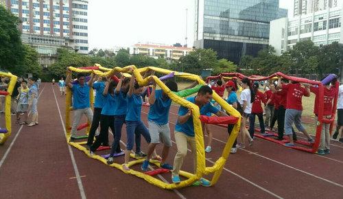 2014广州天河区职工趣味运动会