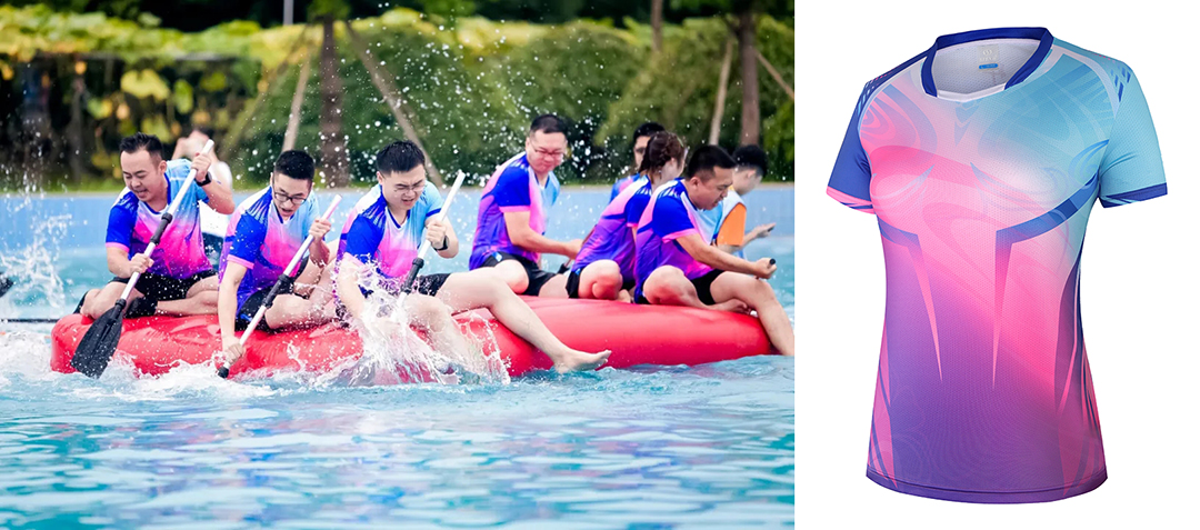 职工水上趣味运动会团队服装定制图片2