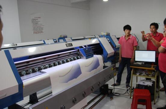 服装生产数码快印现代化先进设备