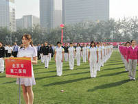 北京西城区卫生系统职工运动会团体服装定制