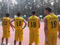 思腾篮球运动服助力广体粤西杯