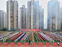 重庆市首届职工运动会服装定制案例