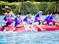 职工水上趣味运动会团队服装定制,团体服装定制厂家