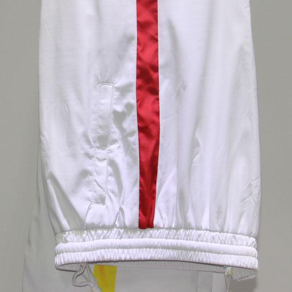 【白/红】梭织长裤27749 27750