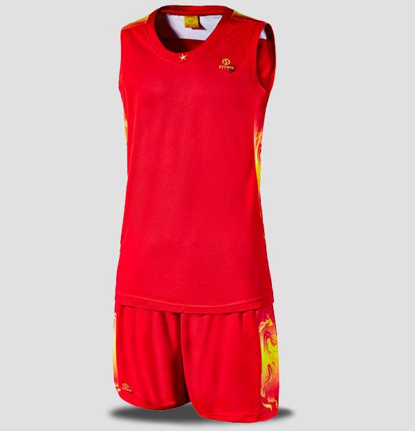 思腾公司品牌篮球运动服套装25513