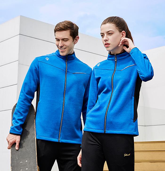新款潮流时尚休闲运动服外套39965/39966定做定制