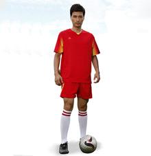 【红色】足球运动服25602