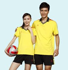 【黄色】排球运动服25721  25722