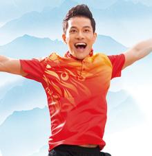 【中国红】运动T恤58323 58324