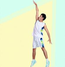 【纯洁白】篮球运动服25513