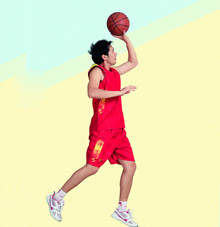思腾无袖篮球服套装25513