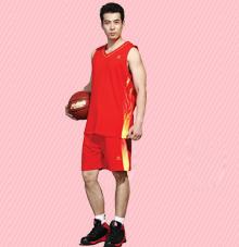 【热情红】篮球服25515