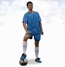 班级足球运动服套装25602