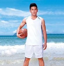 企业篮球运动服套装 25517