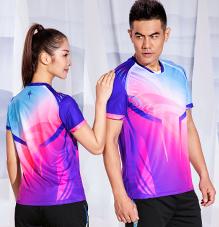 中国风国粹系列2020春夏新款男女运动服短袖t恤88363/88364定做定制