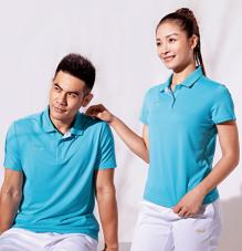 北欧风企业短袖polo衫运动服团体t恤88359/88360定制定做印图logo字