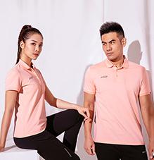北欧风男女运动短袖POLO衫厂家夏季新款针织t恤88357/88358定制